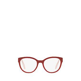 Miu Miu MU 03PV red female eyeglasses