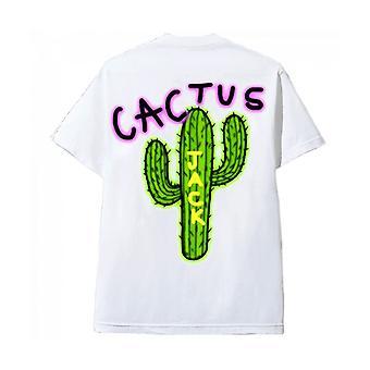 Cactus Jack T-Shirt Blanc Cactus Logo Travis Scott