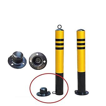 Road Construction, Steel Round Pipe, Active Traffic Pile / Post With Spiral