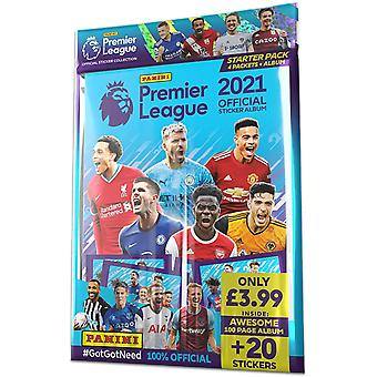 Panini & apos;s 2021 الدوري الإنجليزي الممتاز ملصقة حزمة كاتب