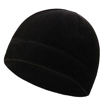 Men Outdoor Winter Warm Fleece Hat, Windproof Sports Cycling Hiking Cap
