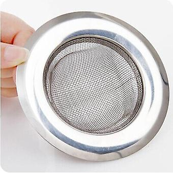 Kitchen Fine Stainless Steel Sink Filter Preventing Pool Bath Sewer Drain