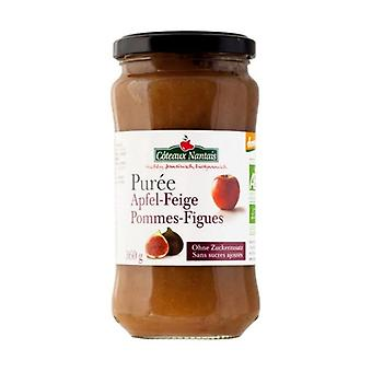 Apple and fig puree without sugar 360 g