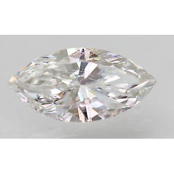Sertifioitu 0,54 karat D VVS2 Markiisi Enhanced Natural Loose Diamond 8.41x4.23mm