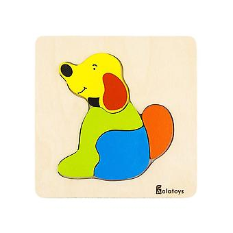 "Alatoys Wooden  Puzzles ""Dog"""