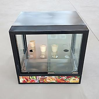 Pizza Display Case Høy kvalitet Pizza Cone Machine Commercial Cone Maker
