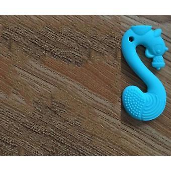 Baby Silikon tuggummi, Molar tecknad ekorre bitande tänder