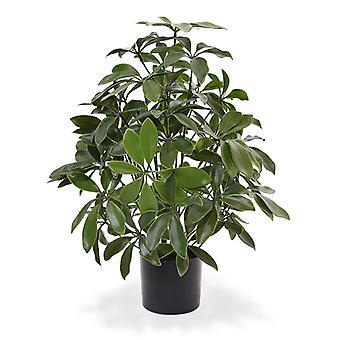 Kunstmatige Schefflera kunstplant 50 cm anti-UV
