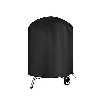 Grill Cover Round Bbq Gas Grill Cover Heavy Duty Double Grill Protector