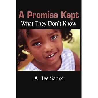 Ein Versprechen gehalten