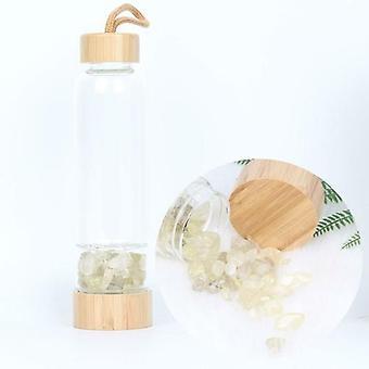 All Kinds Of Natural Quartz Gemstone Crystal Glass Bottle