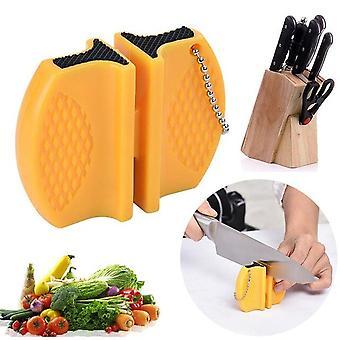 Messer schärfer Mini Keramik Rod Messer Schärfer tragbare Keramik Rod Whetstone Schärfer Messer Stein Küchenwerkzeuge