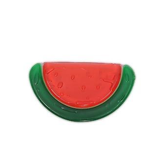 Barnsjukdomar ring vattenmelon T1184 BPA-fri, kylning barnsjukdomar ring som toothing stöd från 3 månader