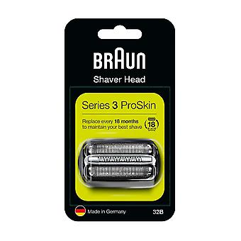 Braun 32B Series 3 Electric Shaver Replacement Cassette Cartridge Foil
