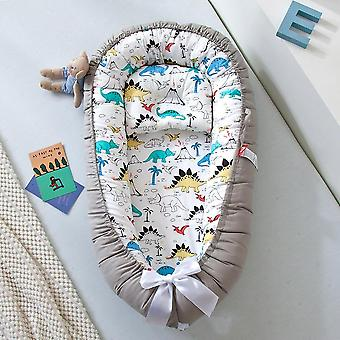 Baby Bed Bassinet Crib, Portable Nest Bed With Pillow Cushion