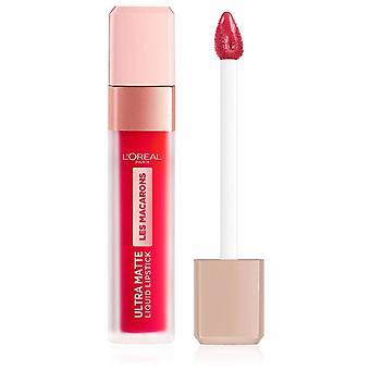 L'Oréal Paris Les Macarones Ultra Matte Flüssiger lippenstift 828 vanvidd
