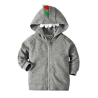 طفل ديناصور سترة، معطف القطن الشتاء