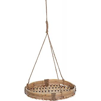 flower pot holder bamboo 25 cm