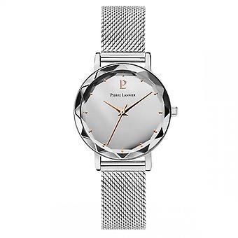 Pierre Lannier Women's Watch Watches 024K628 - Silver Steel Bracelet