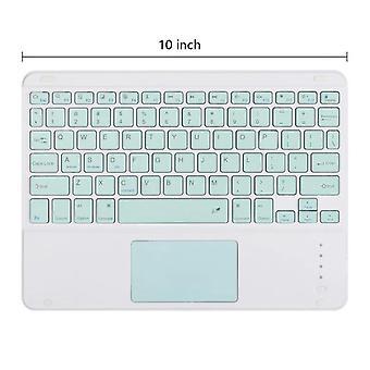 Qwert 10 inch ipad tablet mobiele telefoon universele touchpad bluetooth toetsenbord draadloos