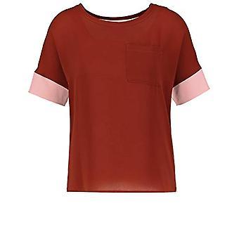 Gerry Weber T-Shirt 1/2 Arm, Cream/Sienna/Mellow Rose, 48 Donna