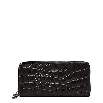 Liebeskind Berlin Gigi Kroko, Women's Wallet Travel Accessories, Black, Large