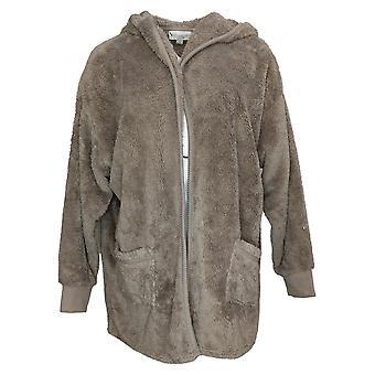 Koolaburra od UGG Damski sweter przytulny kudłaty pluszowy kardigan brązowy A386142