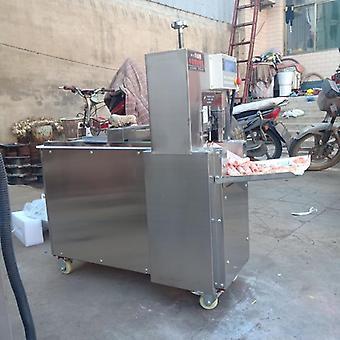 Elektrisk köttskärare, automatisk lammmaskin, potatis, morot, nötkött och fårkött