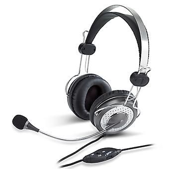 Genius HS-04SU Lyxigt brus som avbryter 3,5 mm headset