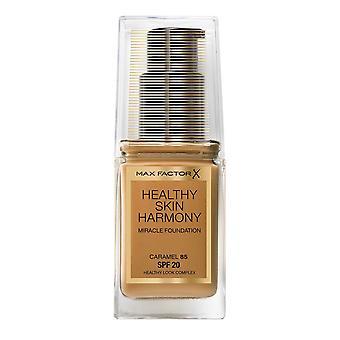 Max Factor Healthy Skin Harmony Miracle Foundation SPF20 30ml Caramel #85