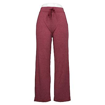 Cuddl Duds Women's Comfortwear French Terry Lounge Red A280225