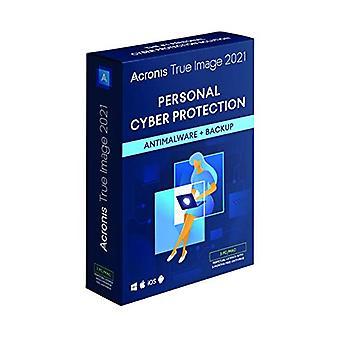 Acronis True Image 2021 | 3 DB/Mac | Örökös licenc | Személyes kibervédelmi | Integrált biztonsági mentés és víruskereső