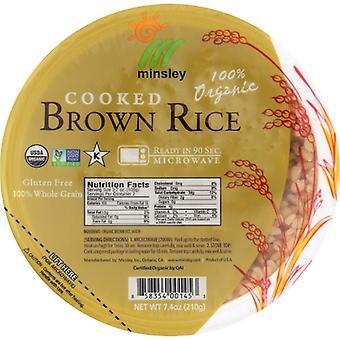 Minsley Rice Bowl Steam Brwn Org, Case of 12 X 7.4 Oz