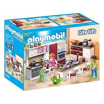 Playset City Live Kitchen Playmobil 9269