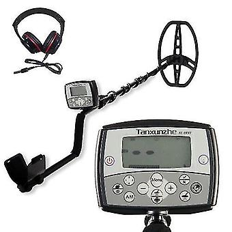 TC-800 11 Inch Search Coil Underground Metal Detector 3 * 1.75 Inch LCD Display Treasure Finder
