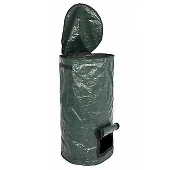 Collapsible Garden Yard Compost Bag With Lid