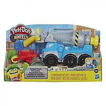 Play-doh Wheels - Modelleringslera - Betongblandaren