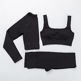 Yoga suit fitness yoga set workout clothes legging bra for women
