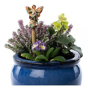 Cane Companions Flower Fairies Pear Blossom Fairy Cane Topper Colorful Ornament