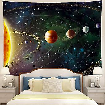 Tapestry Planets Outer Space Galaxy Universe Printed Large Tapestries