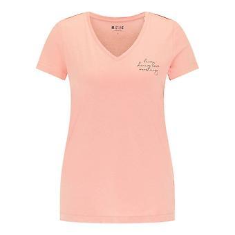 Mustang Skor Alexia V Print 10107468433 universell hela året kvinnor t-shirt