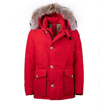 Woolrich Arctic Bright Red Parka