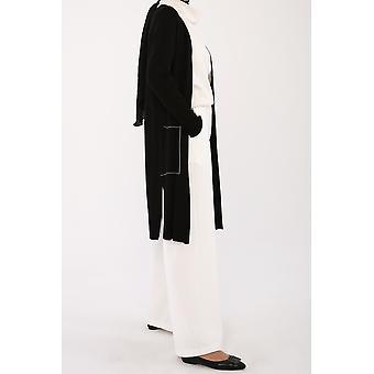 Crew Neck Knitwear Cardigan With Pockets