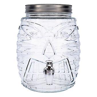 Drinks Dispenser Quid Arizona Transparent Glass (5 L)