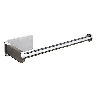 Stainless Steel Kitchen Roll Holder Self Adhesive No-punching Installation