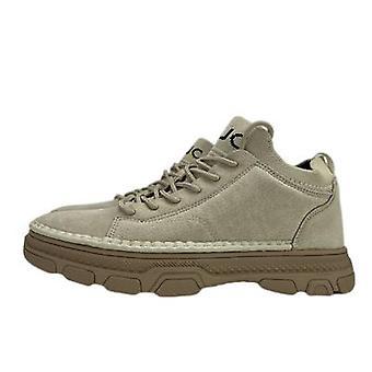 Męskie skórzane top layer Pigskin Sneakers Sportowe buty na co dzień