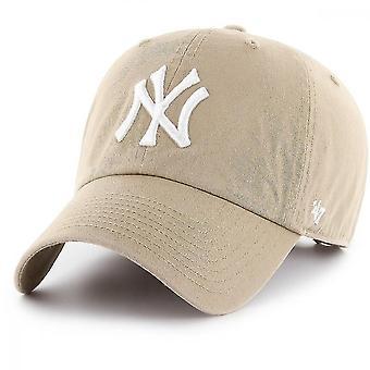 Justerbar Cap-oprydning New York Yankees Khaki