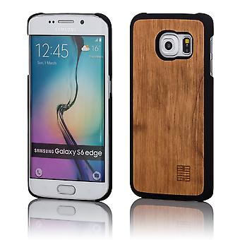 32nd Wooden Back case for Samsung Galaxy S6 Edge (SM-G925) - Pear