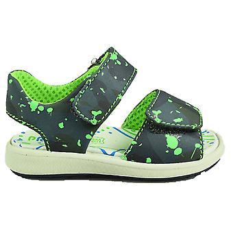 Primigi jongens PAK7567 sandalen zwart grijs