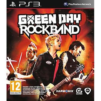 Green Day Rockband PS3 spel